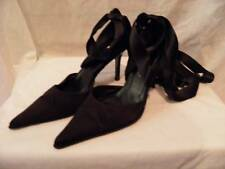 Kenneth Cole Satin Ribbon Heels Made in Italy - size 7 Medium (B, M)