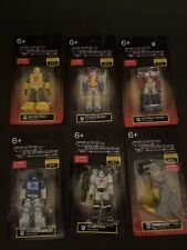 Transformers Mini Figures LIMITED EDITION. Complete Set Bumblebee Megaton Etc.