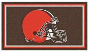 Cleveland Browns 3'x5' Ultra Plush Area Rug E132418