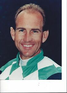 JERRY BAILEY 8X10 PHOTO HORSE RACING PICTURE JOCKEY