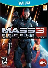Mass Effect 3 Special Edition Wii U game Brand New and Sealed