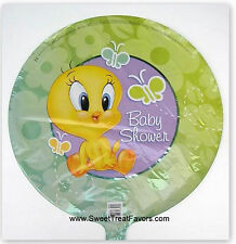 Baby Looney Tunes Party Shower Favors Balloon Decoration Mylar Tweety Supplies