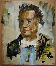 Russian Ukrainian Oil Painting portrait contemporary expressionism