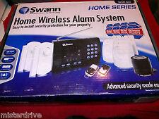 Swann SW347-WA2 Home Wireless Alarm System New Open Box incl. remote keypad L@@K