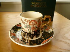 Mason's Water Garden Cup and Saucer Boxed