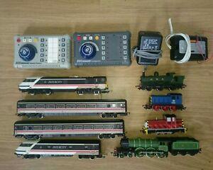 Bachmann 00 Gauge E-Z Control Command DCC Controller, Companion,and DCC Locos.