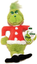 "Rare Dr Seuss Grinch Figure Exercise Fetch Chew Squeaky Dog Toy 12"" Christmas"