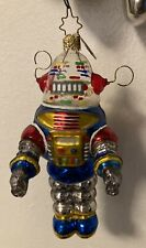 radko christmas ornaments/ Lost In Space Robot /
