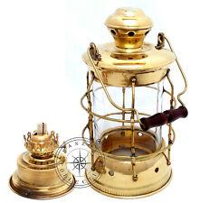 "13"" Brass Light House Lantern~Antique Boat Ship Lamp Maritime Nautical Decor"
