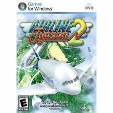 AIRLINE TYCOON 2    Run a Modern Airline  PC Simulation    Brand New