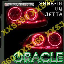 ORACLE Headlight HALO KIT RINGS for Volkswagen Jetta/Rabbit/GTI 05-10 RED LED