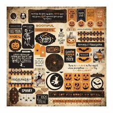 Authentique - Halloween - Twilight Collection - Cardstock Stickers - Details 2