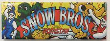 Snow Bros Arcade Game Marquee Fridge Magnet