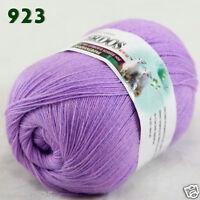 Sale 1 ball x50gr LACE Soft Crochet Acrylic Wool Cashmere hand knitting Yarn 923