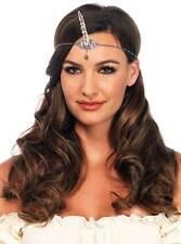 Sliver Unicorn Horn Headband Adult Women Costume Accessory Accent Teardrop Jewel