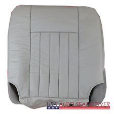 03-06 Lincoln Navigator GAS Perforated Passenger Bottom Leather Seat cover GRAY