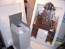 "Franklin Mint 16"" Vinyl Doll Rose TITANIC VANITY SET Dresser & Chair Furniture"