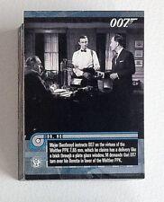James Bond Mission Logs Complete 66 Card Base Set of trading cards
