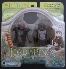 The Lord Of The Rings Grishnakh Orc Scout Minimates 2 Pack New