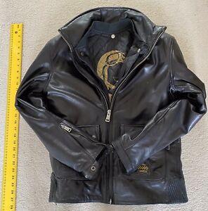 Mens Helston Police Highway Motorcycle Jacket Size M