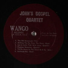 STANLEY BROTHERS: John's Gospel Quartet LP (plain cover, so close to M-!)