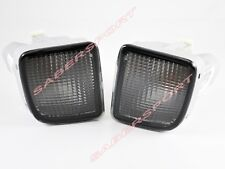 Pair Smoke Front Signal Bumper Lights for 98-00 Toyota Tacoma 4WD / PreRunner