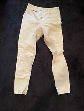 eurostar Full-seat dressage breeches 30L off white