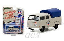 1974 VOLKSWAGEN T2 DOUBLE CAB PICKUP WITH CANOPY CHEVRON 1/64 GREENLIGHT 41020 E