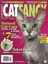 Cat Fancy Magazine Sphynx Donskoy Peterbald Natural Food Care Tokyo Cafes 2013