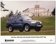 Suzuki Grand Vitara Soft Top Press Release Photo