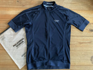 "100% auth. PAS NORMAL STUDIOS PNS Navy ""Mechanism"" Jersey; no Rapha,Maap,Isadore"