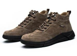 Lightweight High Top Safety Boots Outdoor Work Shoes Steel Toe Cap Men Women UK