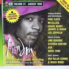 JIMI HENDRIX / PINK FLOYD / METALLICA CD TG 1996