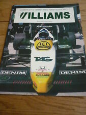 WILLIAMS - KIMBERLEY'S GRAND PRIX GUIDE BOOK jm