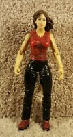 2001 Jakks WWF WWE Stunt Action Stephanie McMahon Series 1 Wrestling Figure