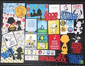 Peanuts Scrapbook Kit! Project Life, Paper, die cuts, Charlie Brown, Snoopy