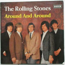 The ROLLING STONES Around And Around 1964 GERMAN ORG MONO Issue LP VG+ Jagger