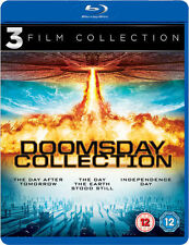 DOOMSDAY COLLECTION*****BLU-RAY******REGION B*****NEW & SEALED