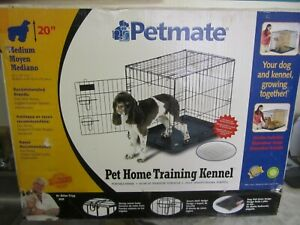 "Petmate Training Retreat Wire Dog Kennel in Black, 24"" L X 18"" W X 21"" H"