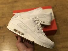 NIKE AIR MAX 90 OSTRICH LEATHER WHITE AND GUM DEADSTOCK RARE!! 1/97 98 270 87
