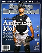 Sports Illustrated 2006 Minnesota Twins Joe Mauer Newstand Issue No Label NR/MT