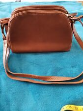 Made by STRANDBAGS Brown Crossbody Shoulder Bag Handbag Leather Tan VGC B6 24d650651a751