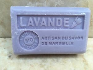 FRENCH SOAP Savon de Marseille 125g Organic olive oil + shea flat rate postage