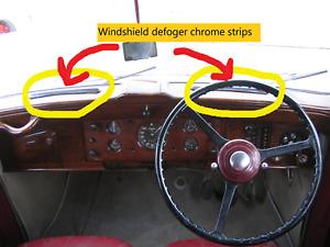 Windshield defroster strips for Early Post War Rolls-Royce & Bentley (1946-59)