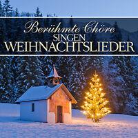 CD Berühmte Chöre singen Weihnachtslieder von Various Artists