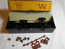 HO TRAIN TRAIN MINIATURE 40' WOOD REEFER KIT WILSON MEATS MINT MADE IN USA!