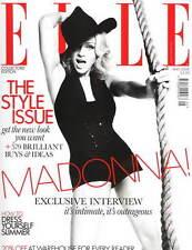 Elle Magazine UK BRITISH MAY 2008 MADONNA COLLECTOR'S EDITION NEW