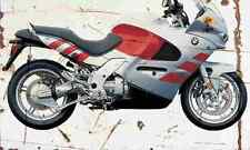 BMW K1200RS 2003 Aged Vintage Photo Print A4 Retro poster
