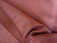 "2.77 yds HOLLAND & SHERRY SILK Super 100s WOOL Suiting 9 oz fabric Ruby 100"" BTP"