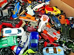 Hot Wheels Matchbox Cars Random Lot Of 50 Bulk Bag Collection Cars Trucks Vans +